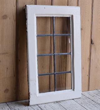 イギリス アンティーク 窓 無色透明 9624