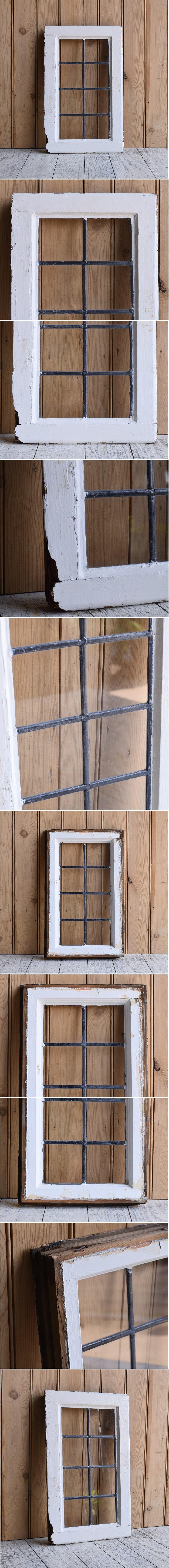 イギリス アンティーク 窓 無色透明 9625