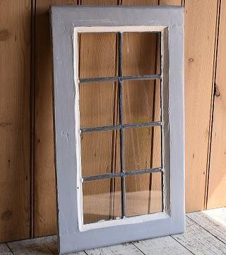 イギリス アンティーク 窓 無色透明 9627