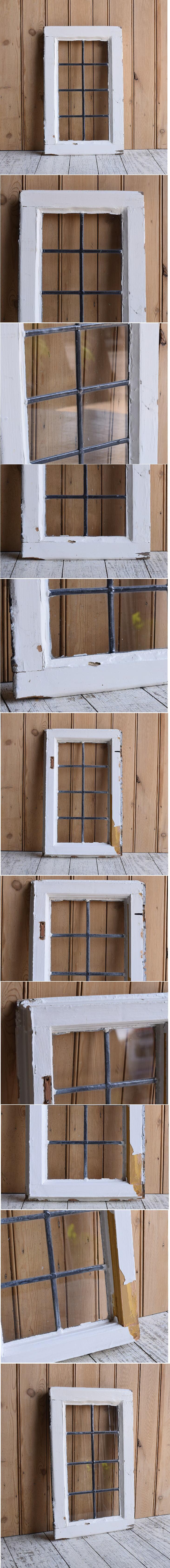 イギリス アンティーク 窓 無色透明 9628