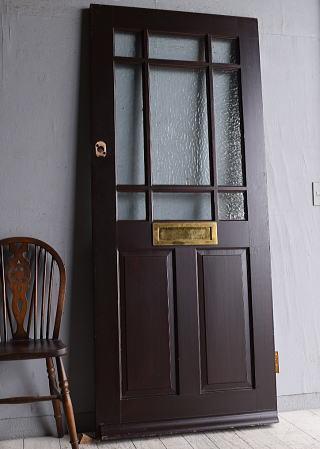 イギリス アンティーク ドア扉 建具 9641