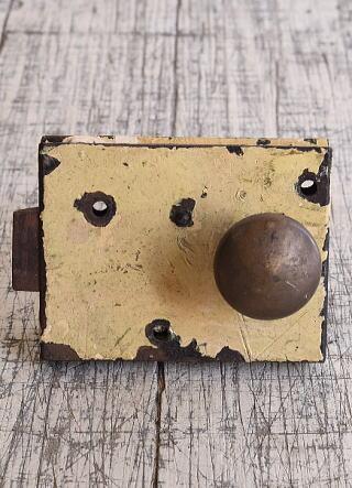 イギリス アンティーク ラッチ&ドアノブ 建具金物 9643