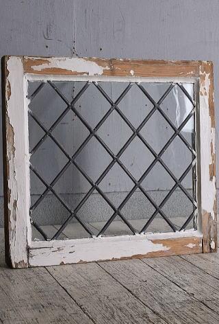 イギリス アンティーク 窓 無色透明 9650