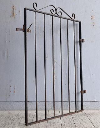 イギリス アンティーク アイアンフェンス ゲート柵 9731