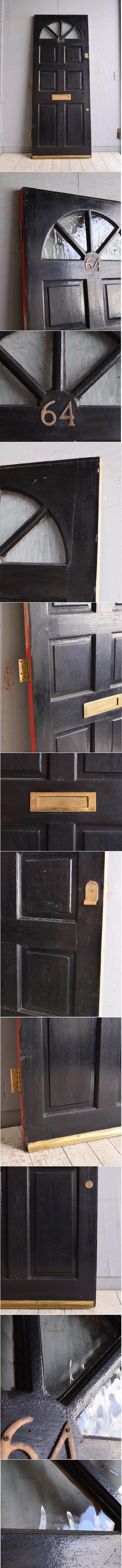 イギリス アンティーク ドア 扉 建具 9745
