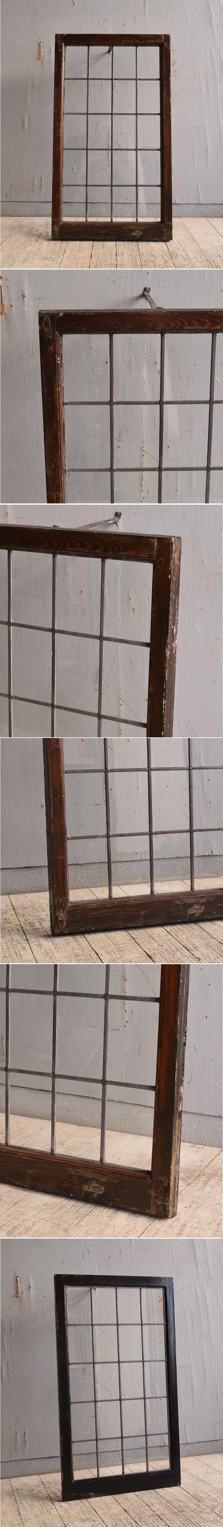 イギリス アンティーク 窓 無色透明 9750