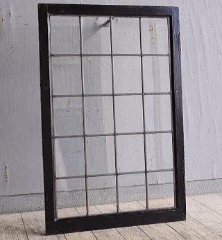 イギリス アンティーク 窓 無色透明 9766