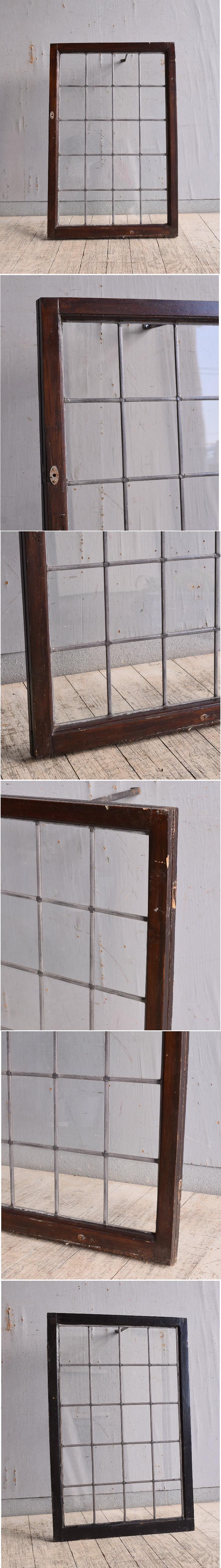 イギリス アンティーク 窓 無色透明 9767