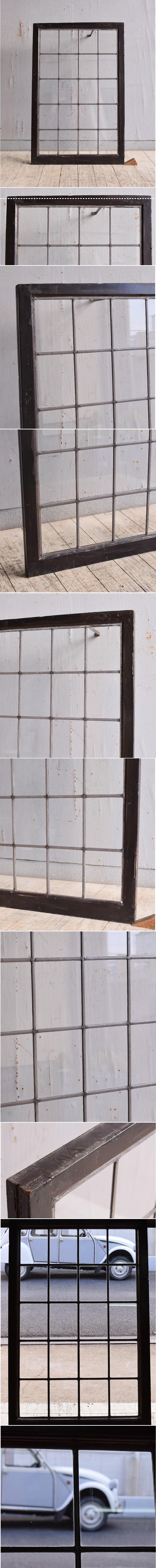 イギリス アンティーク 窓 無色透明 9768