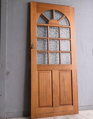 イギリス アンティーク ガラス入りドア 扉 建具 9955