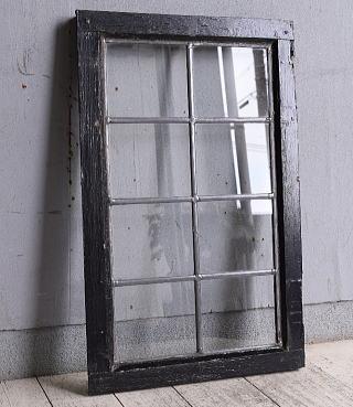 イギリス アンティーク 窓 無色透明 9980